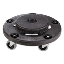 Rubbermaid [2640] Brute® Trash Can Dolly - Black