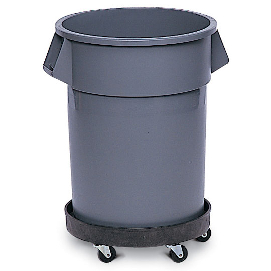 Universal Drum Amp Trash Can Dolly Black Unoclean
