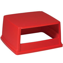 Glutton Hood-Top Receptacle Lid - Red RCP256VRED