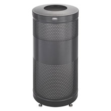 Classics Perforated Open Top Receptacle - 25 Gallon