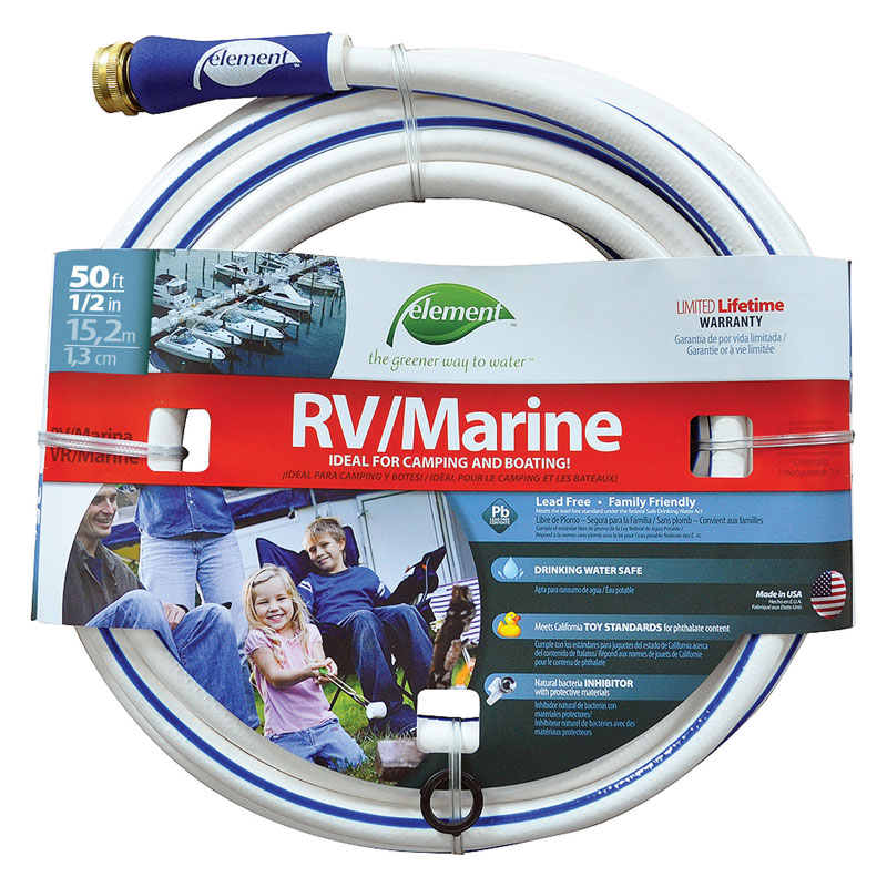 50 Ft Element Rv Marine Hose 1 2 Quot Dia Unoclean