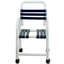Deluxe Shower Commode Chair DNE-118-3TWL-VSS