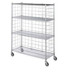 Commercial Hospital Storage Shelving Can Rack Systems