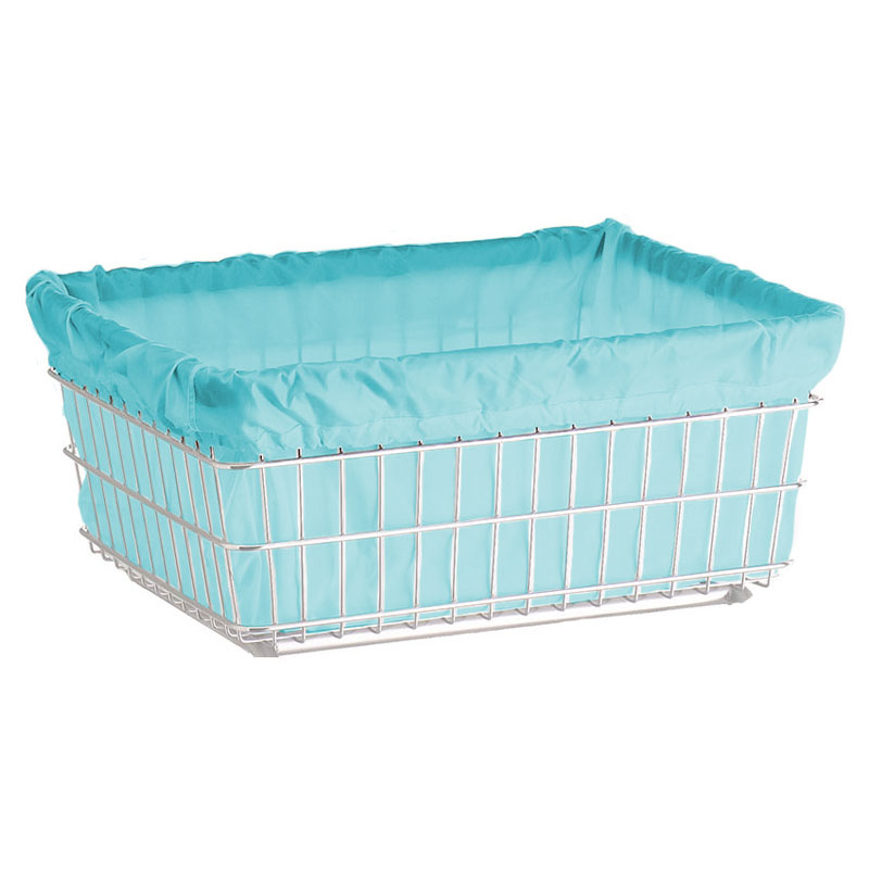 R&B Wire [141] Wire Frame Metal Laundry Cart Nylon Basket Liner - B ...