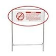 R&B Wire Metal Laundry Cart Rack Extender Sign
