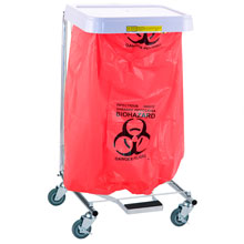 R&B Wire Biohazardous Waste Disposable Poly-Liners