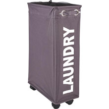 Wenko Wheeled Laundry Hamper