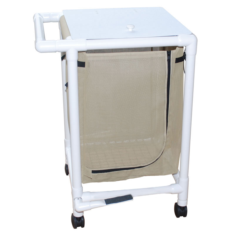 PVC Frame Single Laundry Hamper - 25.71 Gallon