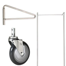 Laundry Cart Casters, Racks & Poles