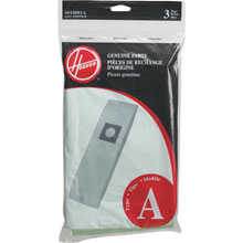 Hoover [4010001A] Vacuum Cleaner Bags - 3 Pack - Type A