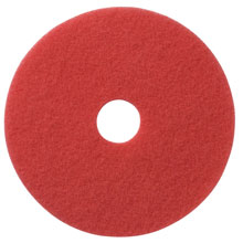 "Mastercraft Floor Machine Buffing & Cleaning Pad - 6 1/2"" - Red"