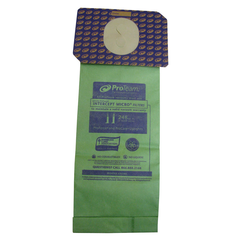 Intercept Micro Disposable Proforce Vacuum Filters 10 Pack