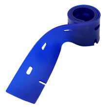 Viper [VF82062] Fang 18C Autoscrubber Replacement Front Squeegee Blade - Blue