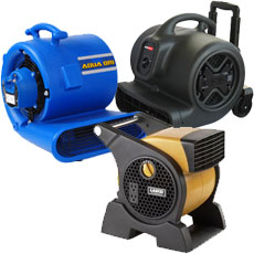 Carpet Dryer and Air Movers