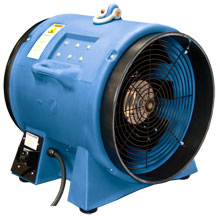 "Americ High Capacity Ventilator, 1-Phase - 20"" Dia. SVE-VAF8000A"