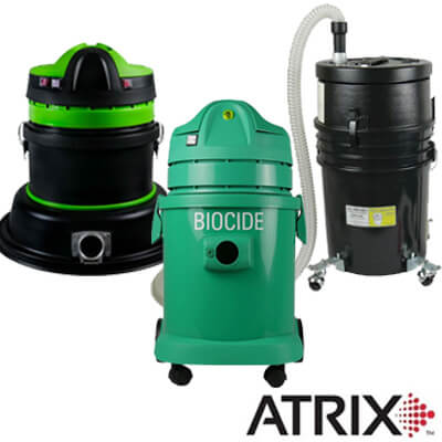Canister Vacuums - Atrix