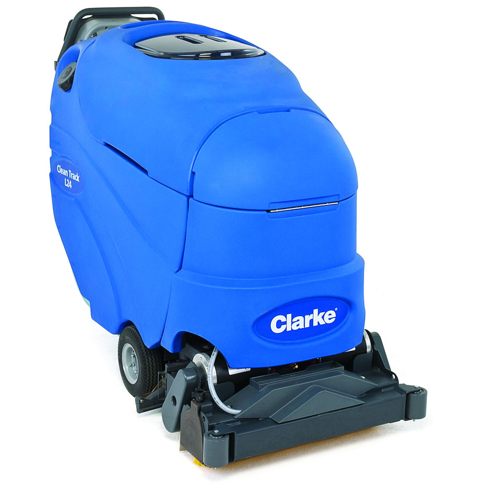 Clarke Clean Track L24 Carpet Cleaning Extractor Unoclean