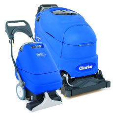 Clarke Self-Contained Carpet Extractors