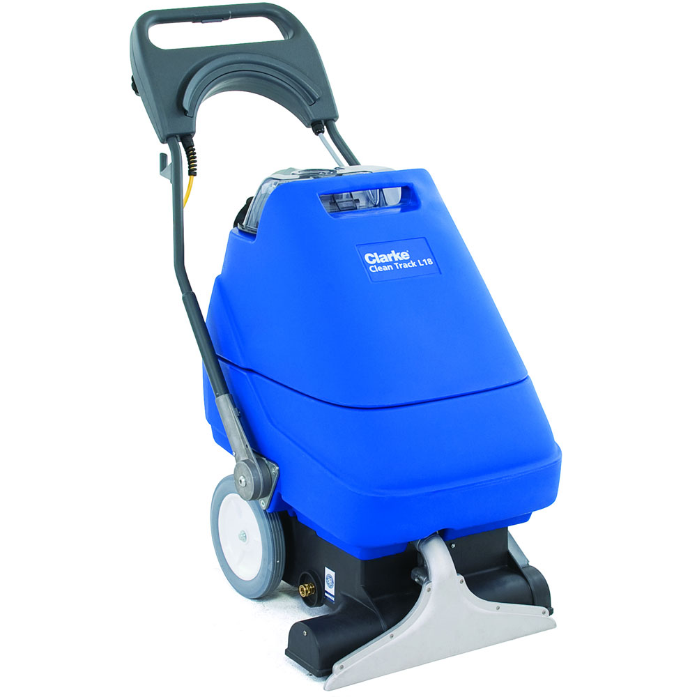 Clarke Clean Track L18 Carpet Extractor Self Contained