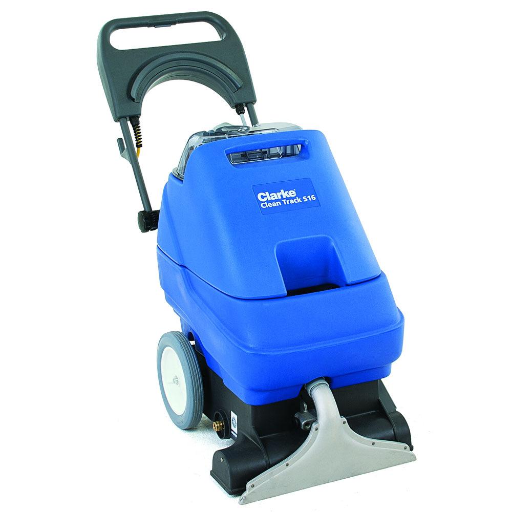 Clarke Clean Track S16 Carpet Extractor Self Contained
