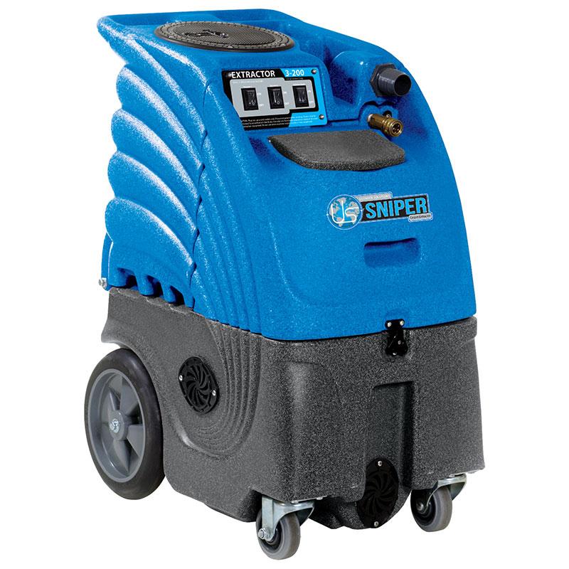 Sandia Carpet Cleaning Machine Box Extractor 6-Gallon 100 PSI Dual 2-Stage Motor