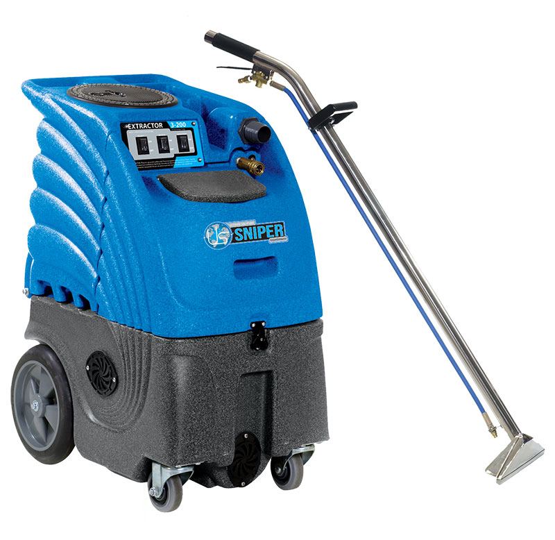Sandia Carpet Cleaning Machine Box Extractor W Wand Kit