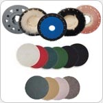 Floor Machine Brushes, Pads, Pad Drivers, Disc Drivers, Clutch Plates & Pad Centering Devices