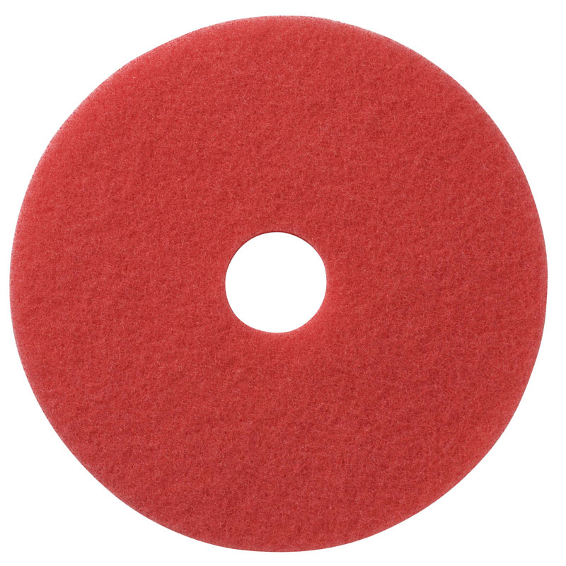 Red Buffing Floor Pads - (5) 20