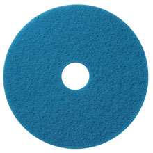 "Blue Cleaning Floor Pad - (5) 17"" Dia. AMCO-400417"