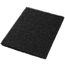 "Black Stripping Floor Pads - (5) 14"" x 20"" AMCO-40011420"