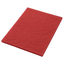 "Red Buffing Floor Pads - (5) 14"" x 20"" AMCO-40441420"
