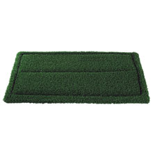 "Turf Scrub Single-Sided Bristle Scrubbing Pad - (4) 14"" x 20"" AMCO-40291420"