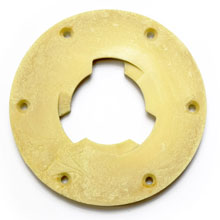 "Floor Machine Pad Driver Clutch Plate - 5"" Centerhole - Malish NP-47"