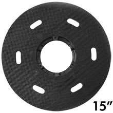"Malish [786715] Floor Machine MIGHTY-LOK® Polymeric Face Pad/Disc Driver - Solid Block - 15"" Dia."