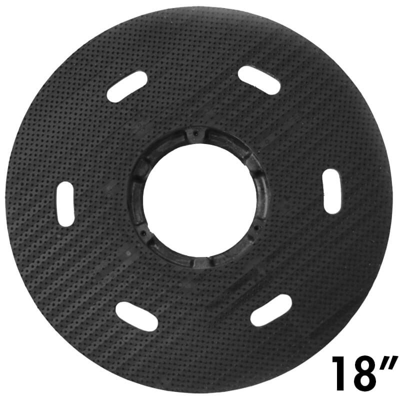"Malish [786758] Floor Machine SURE-LOK® Polymeric Face Pad/Disc Driver - Plastic Block - 18"" Dia."
