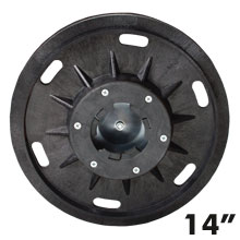 Malish Floor Machine Economy Sandpaper Pad/Disc Driver w/ Universal Clutch Plate
