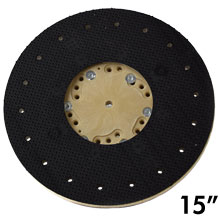 "15"" Dia. Orbo-Lok Sanding Screen Pad Driver w/ P-200 Clutch Plate"