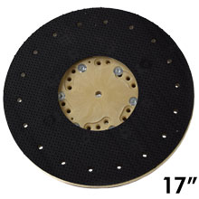 "17"" Dia. Orbo-Lok Sanding Screen Pad Driver w/ P-200 Clutch Plate"