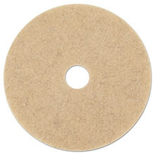 "Premiere Pads Floor Machine Ultra High Speed Burnishing Pad - Natural Hair Extra - (5) 17"" Dia. Pads"