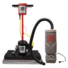 Square Scrub Surface Preparation Machine w/ HEPA Dry Vac Kit