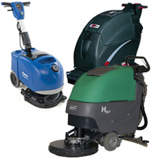 Battery Operated Floor Scrubbers