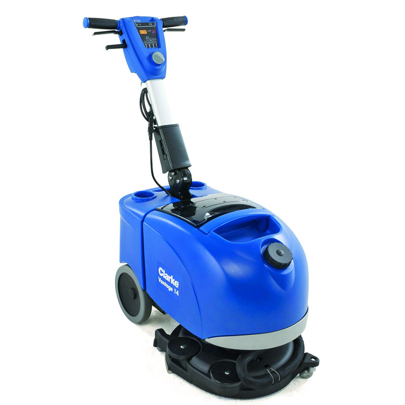 Battery Operated Floor Scrubber UnoClean - Battery powered shower scrubber