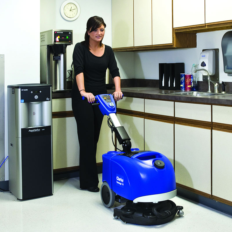 Battery Operated Floor Scrubber 14 Quot Unoclean