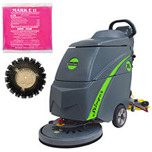 Disinfecting Electric Floor Auto Scrubber Kit