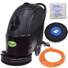 "Gym Mat Electric Floor Scrubber Kit - 17"" UNO-17GYM"