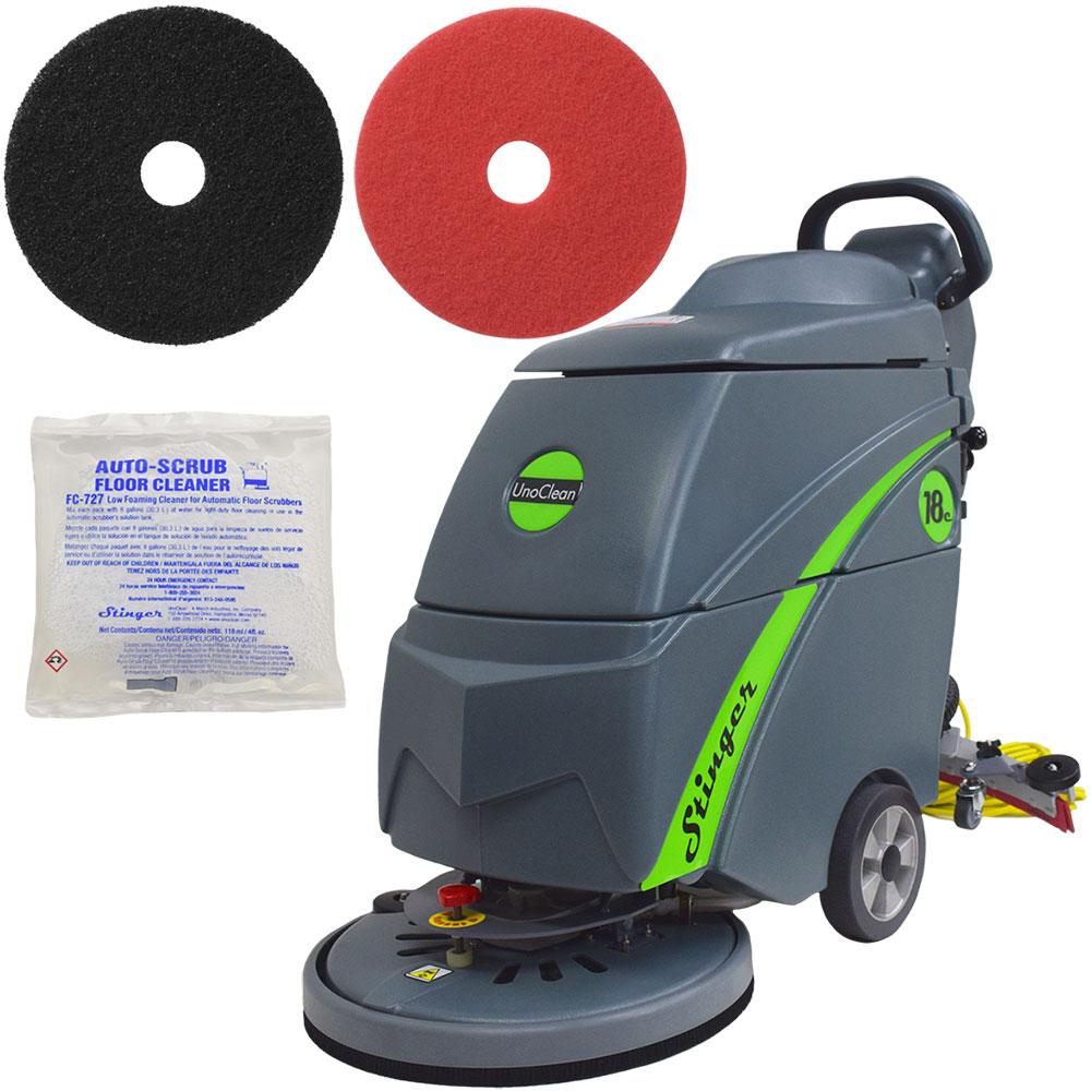Electric Floor Scrubber Amp Floor Machine Bronze Package