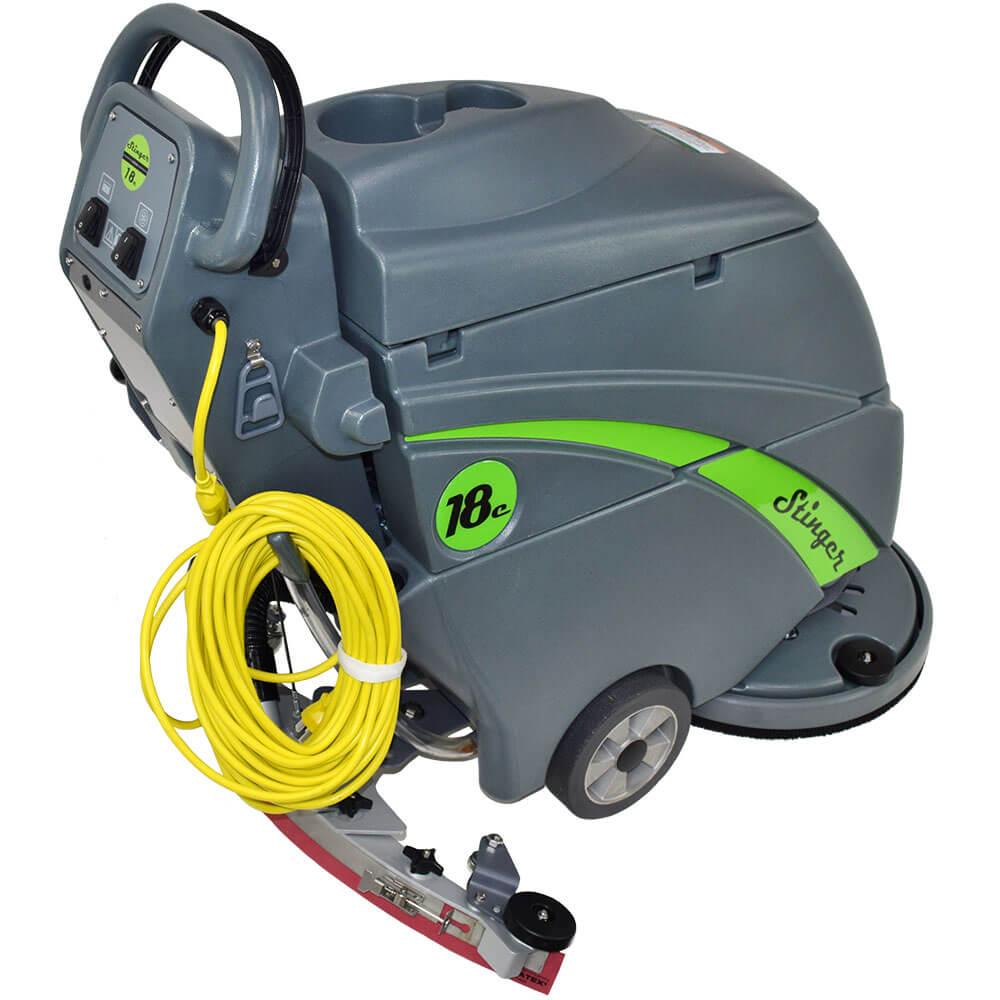Unoclean 18fse Electric Floor Scrubber Walk Behind