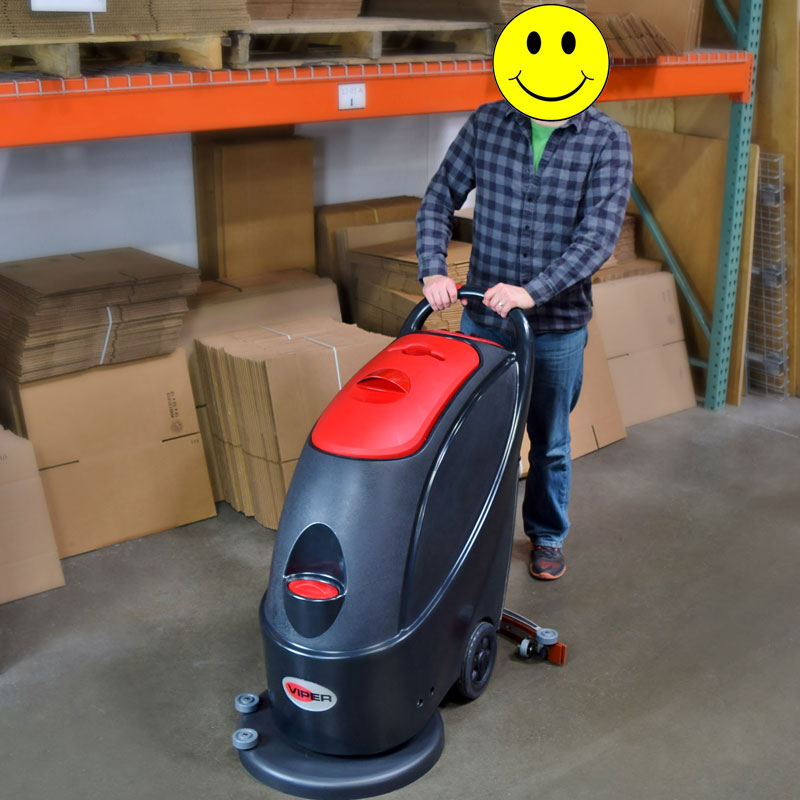 Viper As430c Cord Electric Automatic Floor Scrubber Unoclean