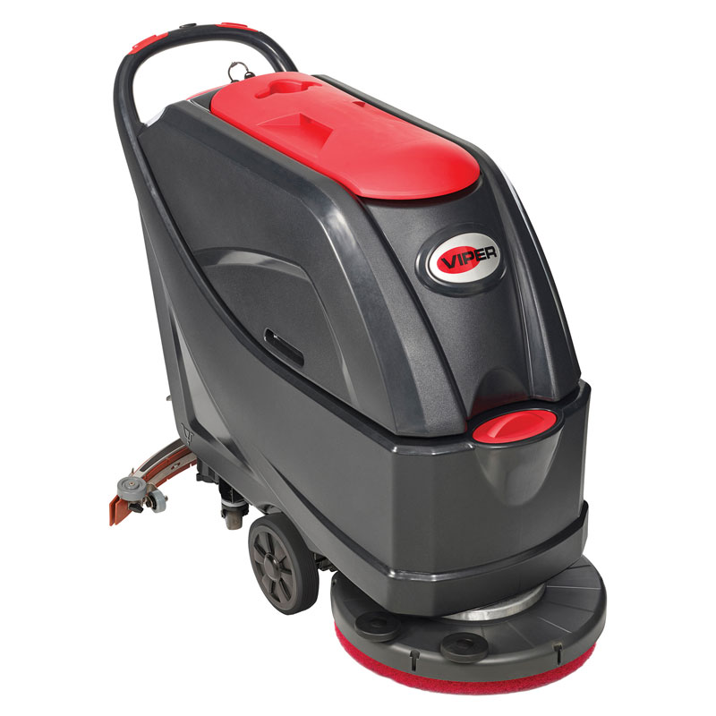 Walk Behind Automatic Floor Scrubber Unoclean