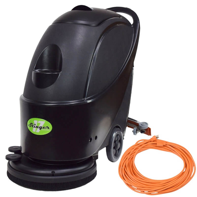 Unoclean 17fse Electric Floor Scrubber Walk Behind